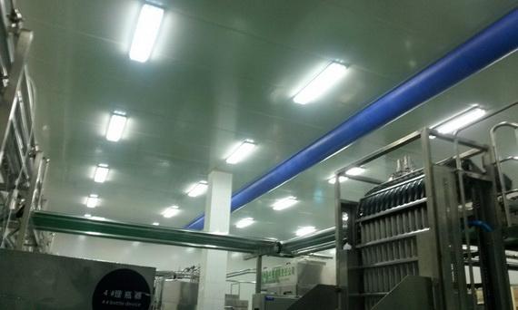 蒙牛集团(新疆)辐流送风洁净车间